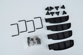 triton mitsubishi logo mitsubishi triton dual cab alloy aero roof rack box luggage basket