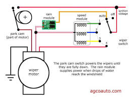 wiring diagram for windshield wiper motor agco automotive repair