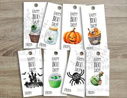 printable halloween favor tags kids halloween party favor