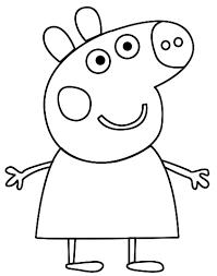 peppa pig 120 cartoons u2013 printable coloring pages