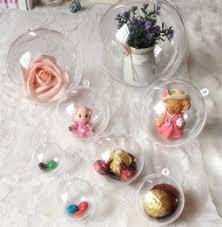 discount clear ornaments plastic balls 2017 plastic clear balls
