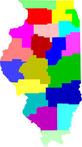 Maps Of Illinois by File Map Of Illinois Highlighting Isp Districts Svg Wikimedia