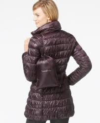 laundry by shelli segal laundry by shelli segal reversible packable puffer coat