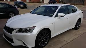 lexus gs 350 san diego just pick up a gs f sport white cabernet leather clublexus