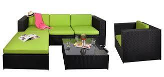 canape jardin resine tressee salon de jardin malaga vert optez pour nos salons de jardin en