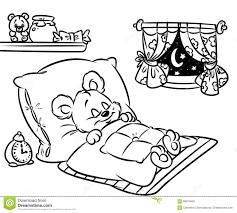 printable bear cartoon coloring books kids coloring7