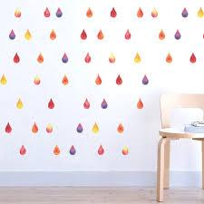 online get cheap wall stickers teen rooms aliexpress colorful raindrop confetti diy kids baby nursery child teen home rain art living room bedroom wall sticker decor decal