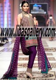 the best bridal dressed with umar sayeed telenor bridal couture