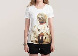 Sloth Meme Shirt - astronaut sloth a cool t shirt by bakuspt on threadless