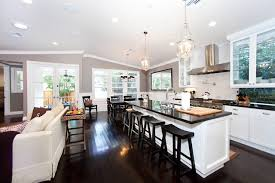 kitchen open floor plan awesome kitchen floor plans with various kitchen objects