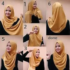 tutorial hijab pashmina tanpa dalaman ninja moda hijab terbaru