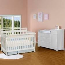 White Crib With Changing Table Davinci Kalani 4 In 1 Convertible Crib And Changer Combo Foter