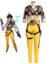 overwatch ow tracer halloween cosplay costume halloween cosplay