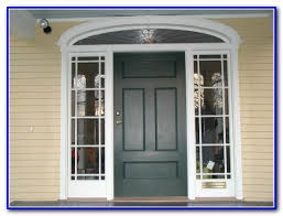 front door colors for yellow brick house painting home design