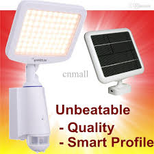 bright light solar white solar pir sensor light 80 bright led solar ls sensor