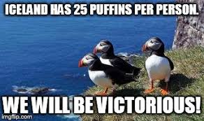 Puffin Meme - puffin army imgflip