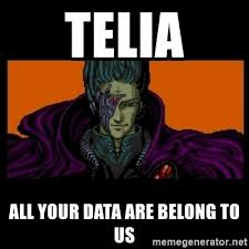 All Your Base Are Belong To Us Meme - telia all your data are belong to us all your base are belong to