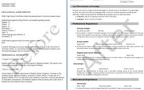 College Resumes Template Outline Resume Template Resume For High Graduate Resume