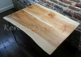 Sustainable Dining Table Made Live Edge Dining Table Kitchen Table Breakfast Table