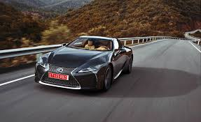 lexus lf lc black 2018 lexus lc 500 cars exclusive videos and photos updates