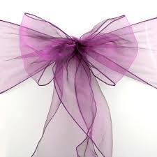 organza sashes 50 wedding chair organza sashes diy wedding sash bow sheer organza