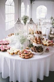 Candy Table For Wedding 100 Scrumptious Wedding Donuts Displays U0026 Ideas Wedding Donuts