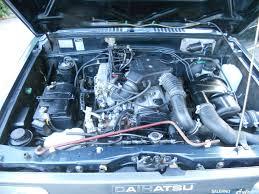 daihatsu feroza engine daihatsu feroza benzina usata km 40000 auto1000 salerno