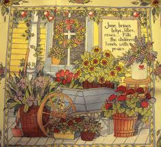 susan winget art from calendars pinterest decoupage country