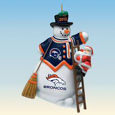 2012 annual denver broncos ornament the danbury mint