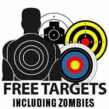 free printable zombie images moretoyguns free printable airsoft targets including zombies
