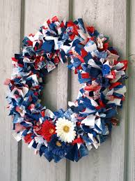 4th of july wreaths glimmer creations fourth of july fabric wreath