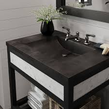 30 Inch Vanity Base Cuzco Bathroom Vanity Base With Carrara Marble Native Trails