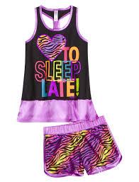 i to sleep late 2pc pajama set sets pajamas i