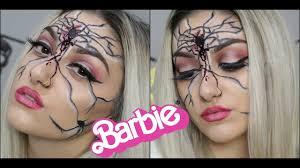 dead broken barbie doll halloween makeup youtube
