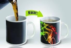 magic mug amazing new heat sensitive color changing coffee mug