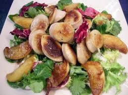cuisiner le boudin blanc salade de boudins blancs aux pommes la recette facile par toqués