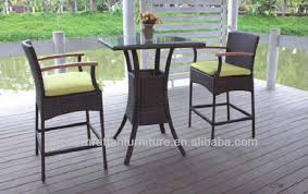 High Top Patio Furniture by Outdoor High Top Table And Chairs Modern Chairs Design