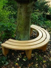 great circular garden bench seat andrew crace wooden garden