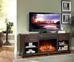 shavano 48 in media console electric fireplace ebony oak hawthorne