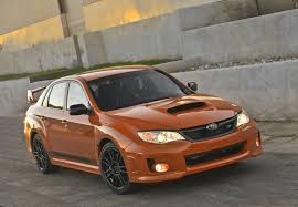 2013 subaru impreza wrx orange and black special edition