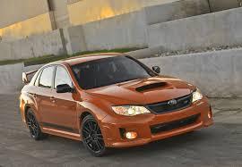 2013 subaru impreza wrx orange and black special edition