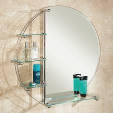 Round Bathroom Mirror With Shelf by Best 25 Round Bathroom Mirror Ideas On Pinterest Minimal