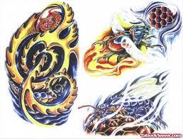 good colored biomechanical tattoo designs tattoo viewer com