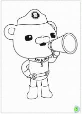 octonauts coloring pages octonauts kindergarten printables coloring home
