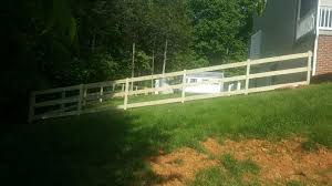 mc fence and deck residential fencing photo album wood fence