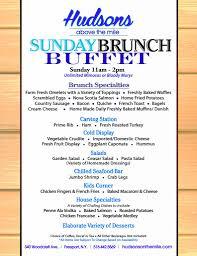 menu for brunch brunch menu freeport seafood sushi lunch dinner