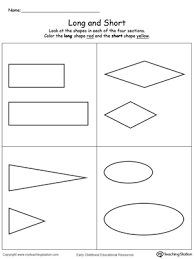 preschool measurement printable worksheets myteachingstation com