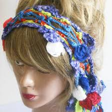 hippie bands shop bohemian crochet hair on wanelo