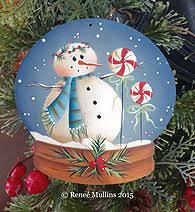 free tole painting patterns snowman tole painting