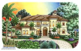 Tuscan Home Plans Tuscan House Plans Luxury Home Plans Old World Mediterranean Style